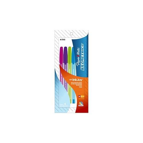 BOLIGRAFO PAPERMATE ALLEGRO 100 COLS FASHION C/4