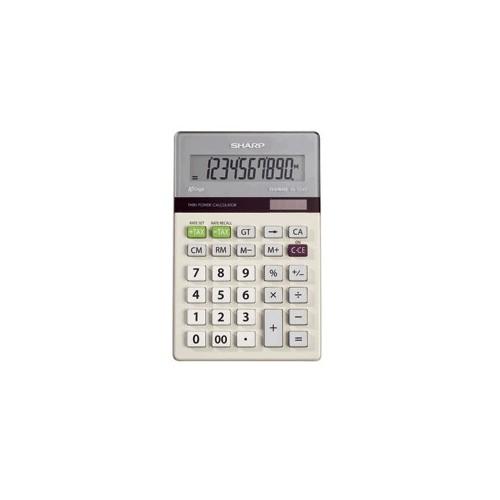 CALCULADORA BASICA SHARP EL-334TB ECOLOGICA