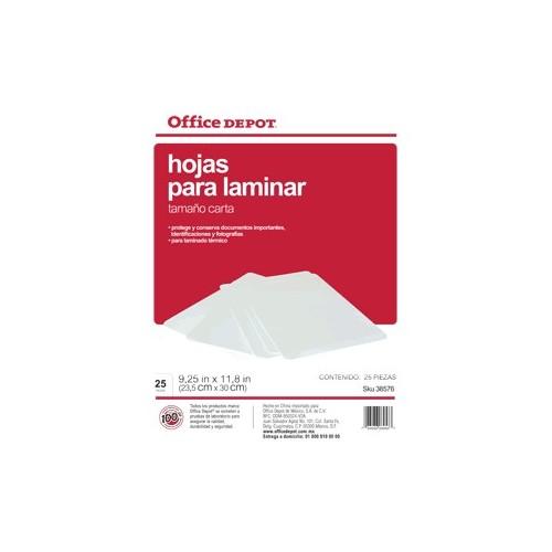 MICAS TERMICAS OFFICE DEPOT 8.5X11 CON 25 PIEZAS - Envío Gratuito