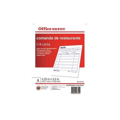 COMANDA RESTAURANTE OFFICE DEPOT - Envío Gratuito