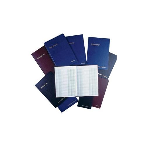 LIBRO DE CONTROL DE BANCOS BLUELINE CON 100 HOJAS - Envío Gratuito
