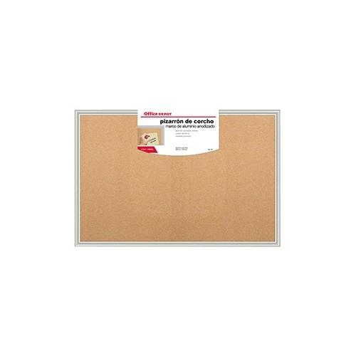 PIZARRON OFFICE DEPOT DE CORCHO 90 X 120 CM - Envío Gratuito