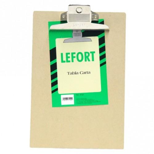 TABLA CON CLIP LEFORT TAMANO CARTA - Envío Gratuito