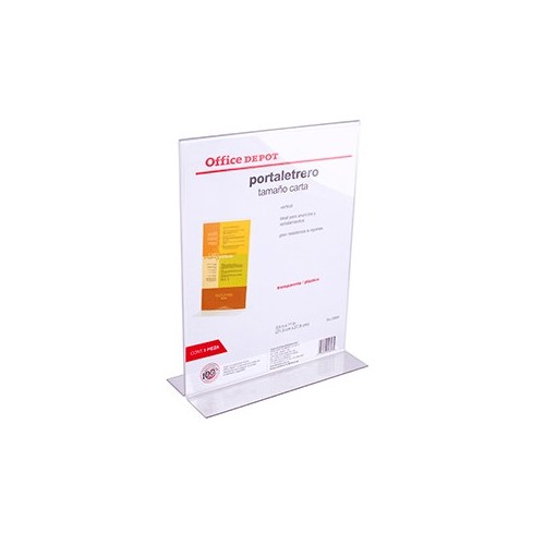 PORTALETRERO VERTICAL 8.5 X 11 IN OFFICE DEPOT