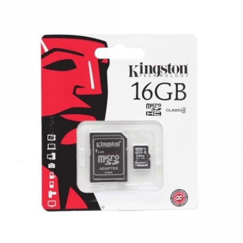 TARJETA KINGSTON MICRO SD 16GB - Envío Gratuito