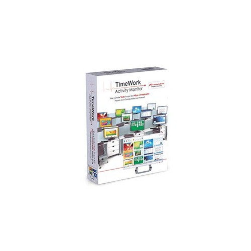 TIMEWORK PEQUENA 20 PCS - Envío Gratuito