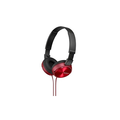AUDIFONOS ON EAR SONY MDR-ZX310ROJ - Envío Gratuito