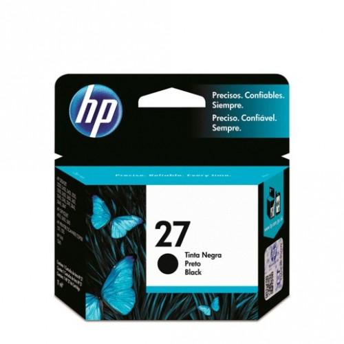CARTUCHO DE TINTA NEGRA HP 27 (C8727AL) - Envío Gratuito