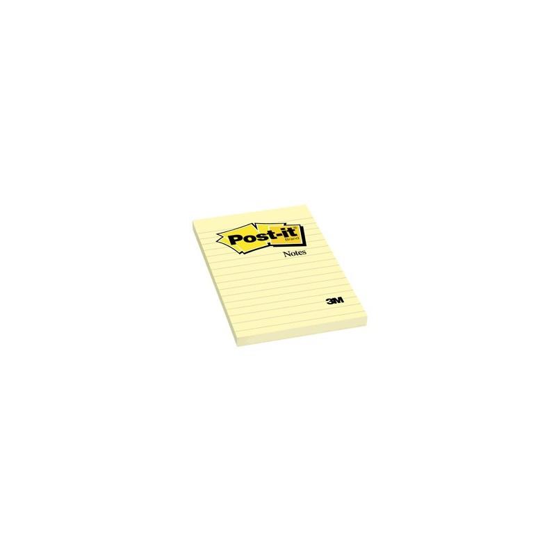 POST-IT 660 4X6 AMARILLO CON RAYAS - Envío Gratuito
